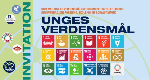 Logoet for Unges verdensmål